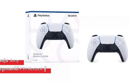 ក្រុមហ៊ុន Sony បានប្រកាសអំពី PS5 Restock ថ្មី