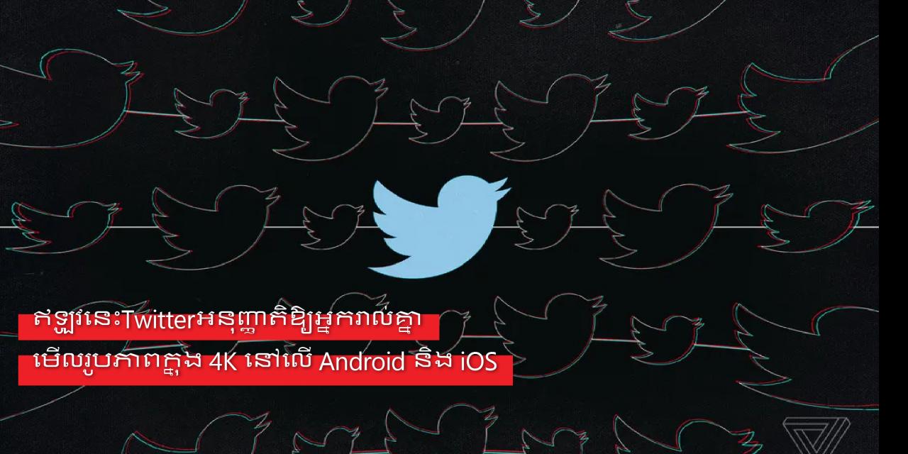 ឥឡូវនេះTwitterអនុញ្ញាតិឱ្យអ្នករាល់គ្នាមើលរូបភាពក្នុង 4K នៅលើ Android និង iOS