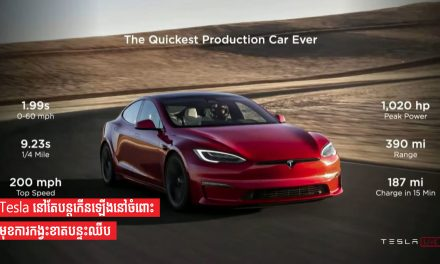 Tesla នៅតែបន្តកើនឡើងនៅចំពោះមុខការកង្វះខាតបន្ទះឈីប
